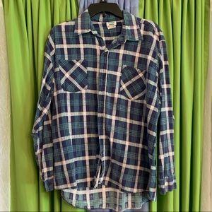 Men's flannel vintage